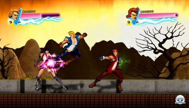 Screenshot - Double Dragon Neon (360) 92402777