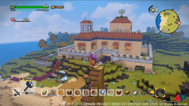 Der Fantasie der Dragon-Quest-Architekten sind nur wenige Grenzen gesetzt.