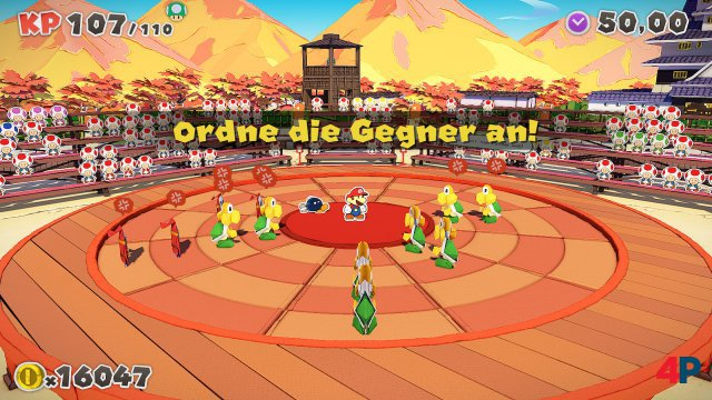 Screenshot - Paper Mario: The Origami King (Switch) 92619581