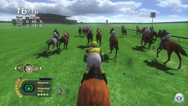 Screenshot - Champion Jockey: G1 Jockey & Gallop Racer (PlayStation3) 2229904