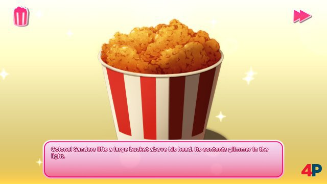 Screenshot - I Love You, Colonel Sanders! A Finger Lickin' Good Dating Simulator (PC)