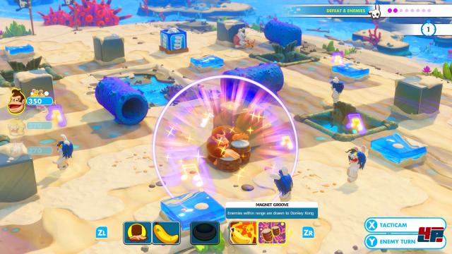 Screenshot - Mario   Rabbids Kingdom Battle - Donkey Kong Adventure (Switch) 92569351