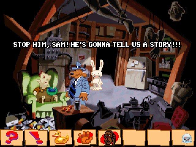 Screenshot - Sam & Max Hit the Road (PC) 92431647
