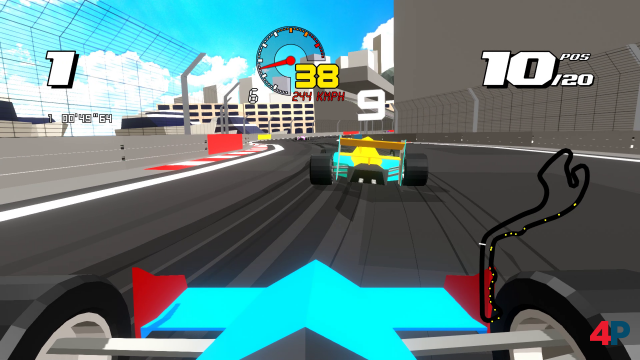 Screenshot -  Formula Retro Racing (PC)