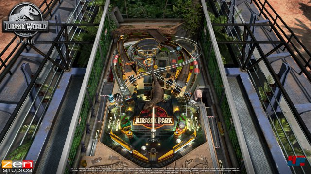 Screenshot - Jurassic World Pinball (PC)