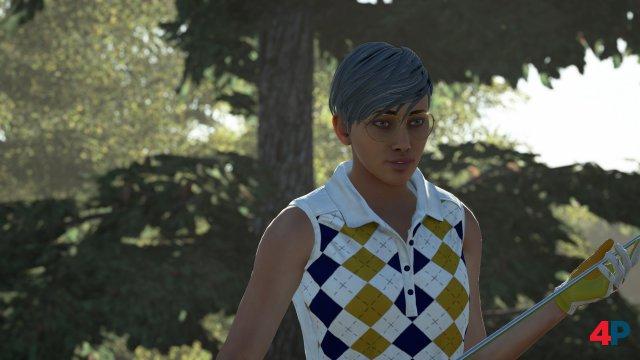 Schade: Man erstellt zwar weibliche Charaktere - die LPGA ist aber nicht Teil des Spiels. Die zwölf lizenzierten Männer stehen außerdem nur als Gegner zur Verfügung, sind aber keine spielbaren Profis.