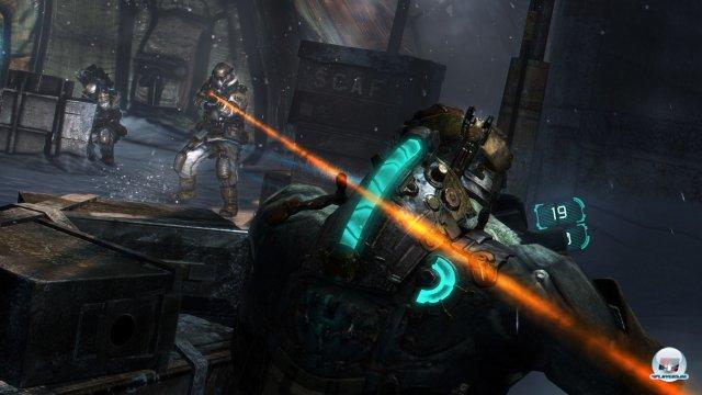 Stupide Action: Die Feuergefechte gegen die Unitologen-Armee sind öde und werfen kein guten Licht auf die KI.