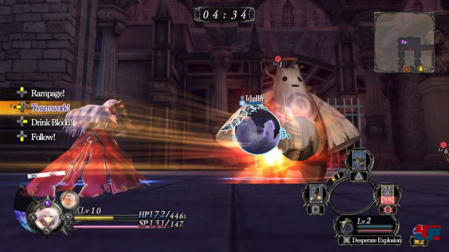 Screenshot - Nights of Azure (PlayStation3)