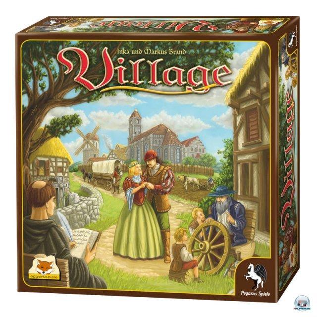 Village ist für zwei bis vier Spieler geeignet, erschien Ende 2011 bei Pegasus und kostet knapp 30 Euro.