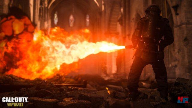 Die Flammenwerfer zählen zu den brutalsten Nahkampfwaffen.