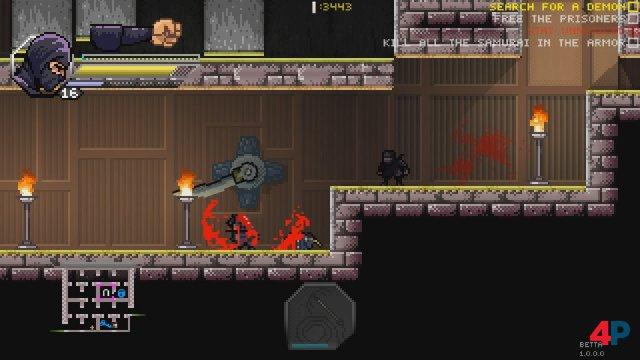 Screenshot - Pixel Shinobi: Nine demons of Mamoru (PC) 92594170