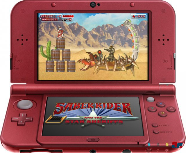Screenshot - Saber Rider and the Star Sheriffs: The Video Game (N3DS) 92512890