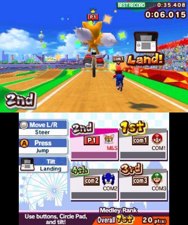 Screenshot - Mario & Sonic bei den Olympischen Spielen: London 2012 (3DS) 2304942
