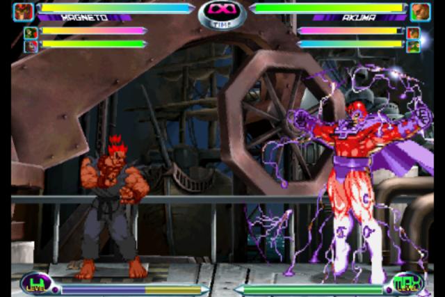 Screenshot - Marvel vs. Capcom 2 (iPhone)