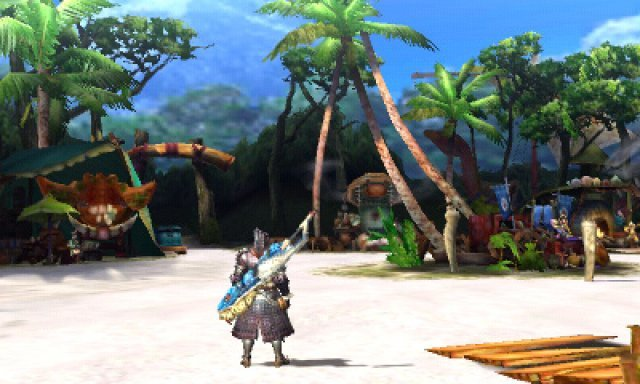 Screenshot - Monster Hunter 4 (3DS)