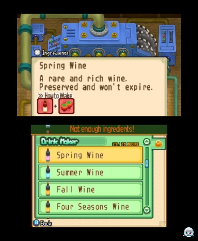 Screenshot - Harvest Moon: The Tale of Two Towns (3DS) 2232287