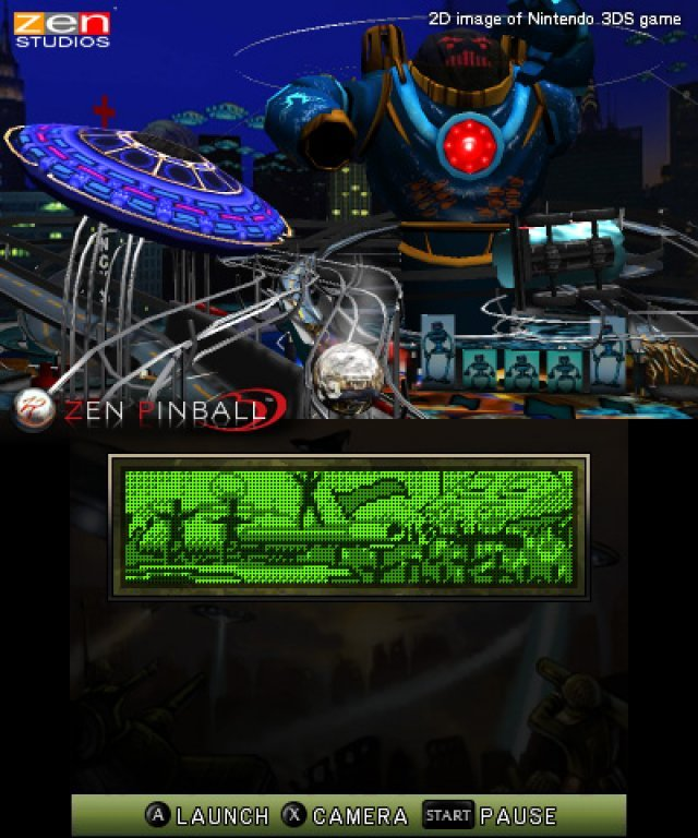Screenshot - Zen Pinball (3DS)