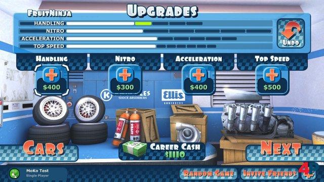 Screenshot - Mini Motor Racing X  (Switch)