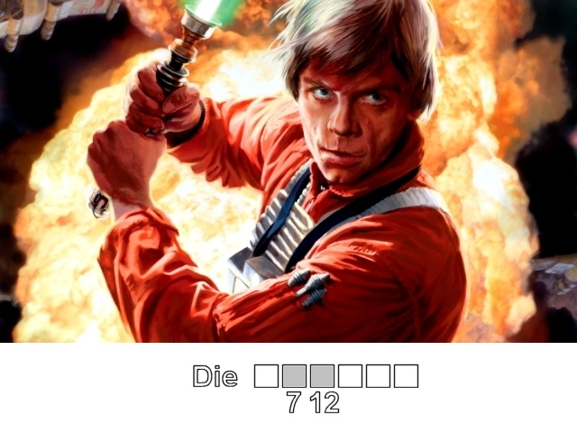 <br><br><b>Welche Hand verliert Luke Skywalker beim Gefecht mit Darth Vader?</b> 2171538