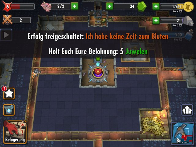 Screenshot - Dungeon Keeper (iPad) 92476593
