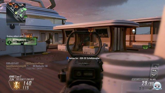 Rasend schnell, wunderbar hektisch - so kennt und liebt man den Mehrspielermodus von CoD. Ist in Black Ops 2 nicht anders.