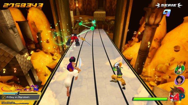 Gast-Stars wie Aladdin kämpfen ebenfalls an eurer Seite.