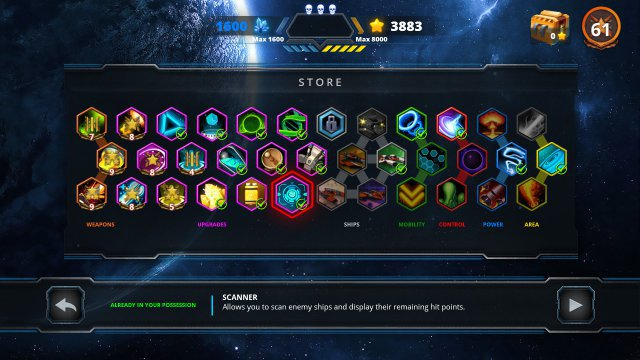 Screenshot - Space Avenger - Empire of Nexx (Switch)