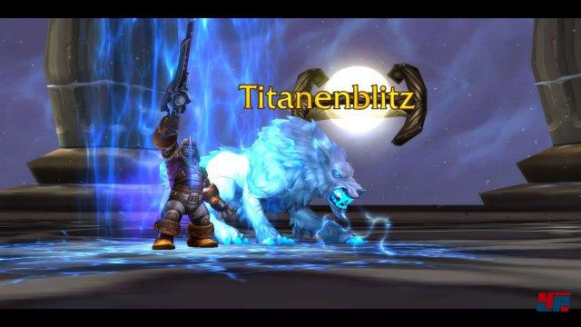 Tierherrschaftsjäger erhalten am Anfang das Artefakt Titanenblitz.