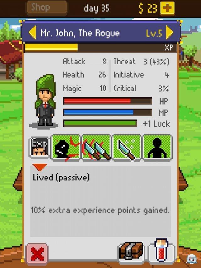 Screenshot - Knights of Pen & Paper (iPad) 92458320