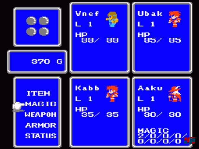 Screenshot - Final Fantasy (NES) 92549051