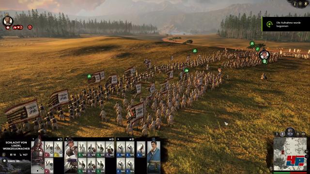 Wie immer wechselt die Strategie zwischen Kampagnenkarte und 3D-Schlachten.