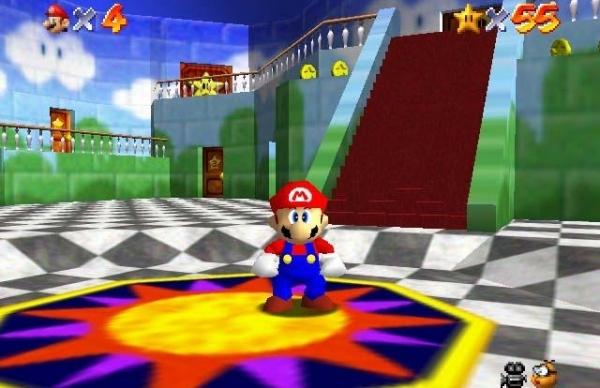 Super Mario 64 (1996)<br><br>Manche sagen, dass Miyamotos erster 3D-Ausflug bis heute das beste 3D-Jump-n-Run ist. Manche sagen, dass die Kamerasteuerung furchtbar ist. Beide haben irgendwie recht, denn obwohl nicht jedermann (wie auch der Schreiber dieser Zeilen) Fan der Kamera ist, gibt es keine Zweifel daran, dass Miyamoto -schon wieder- ein Meisterwerk geschaffen hat, das nicht nur klassische Mario-Tugenden erfolgreich in die dritte Dimension hievte, sondern auch den Weg für die Raymans und Lara Crofts dieser Welt geebnet hat. Ist es da ein Wunder, dass Super Mario 64 der bestverkaufte Titel für Nintendos N64 war? 1724684