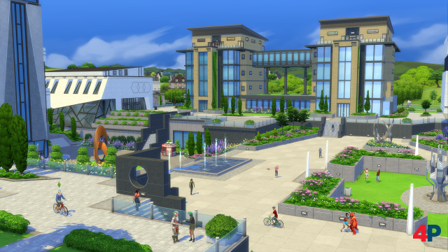Screenshot - Die Sims 4 An die Uni! (PC)