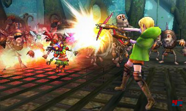 Screenshot - Hyrule Warriors Legends (3DS)