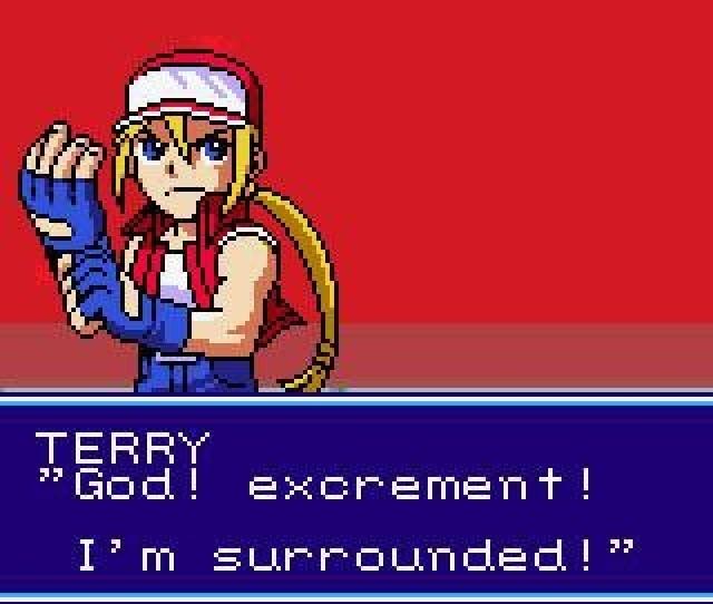 <b>SNK vs Capcom</b><br><br> Terry Bogard ist ziemlich oft ziemlich schlecht gelaunt. Ginge mir ähnlich, wenn ich dauernd von göttlicher Scheiße umzingelt wäre. 1776018
