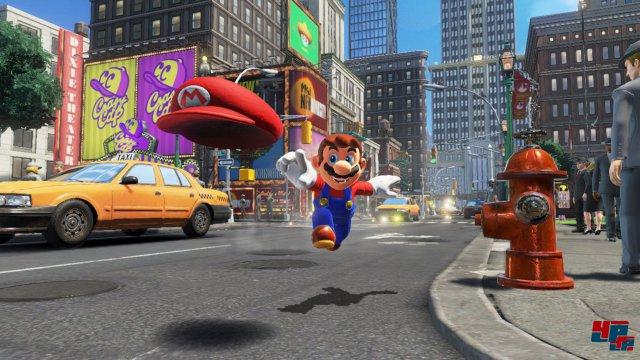 Super Mario Odyssey lässt noch bis zum Winter 2017 auf sich warten.