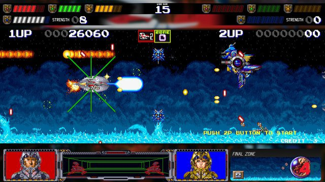 Screenshot - Darius Cozmic Collection Arcade   Console (Switch) 92617403