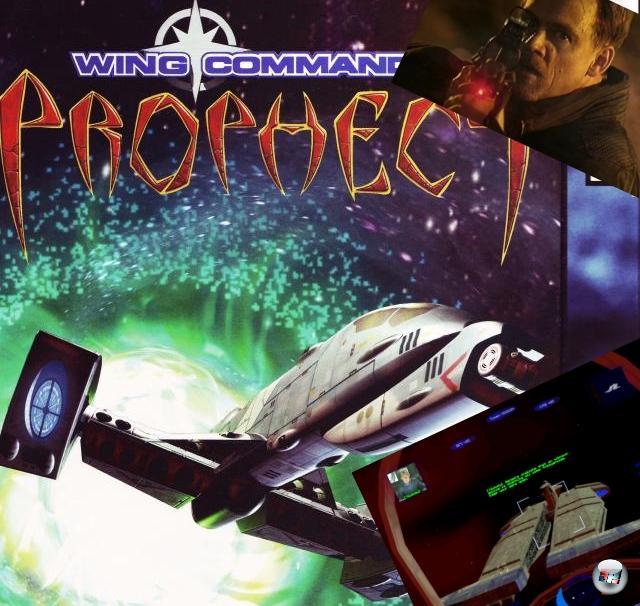 <b>Wing Commander 5: Prophecy</b> (Dezember 1997)<br><br>Prophecy war in mehrfacher Hinsicht bemerkenswert: Zum einen war es das erste Wing Commander ohne Chris Roberts - der hatte sich zwischenzeitlich von Origin getrennt und seine eigene Spielefirma Digital Anvil gegründet. Zum anderen war es eines der ersten Spiele, die die gerade aufkommenden 3D-Beschleuniger nicht nur unterstützten, sondern sogar voraussetzten: Besitzer von 3Dfx-Karten bekamen bilinear gefilterte SVGA-Grafik, Lensflares und mächtige Frameraten! Des Weiteren kam das Spiel praktisch ohne Kilrathi aus, der neue Gegner war die insektoide Alienrasse der Nephilim, die mit ihren großen, organischen Raumschiffen für Schnappatmung bei den Spielern sorgten. Und nicht zuletzt war Prophecy auch einer der Vorreiter in Sachen episodischer Inhalte: Die Erweiterung »Special Ops« wurde kostenlos zum Download angeboten (in Zeiten, in denen selbst ISDN noch kaum verbreitet war!) und regelmäßig um frische Missionen angereichert. Von der alten Truppe blieben nur noch Blair und Maniac als Berater übrig, die Geschichte drehte sich um den Jungspund Lance Casey - den Sohn von Wing Commander-Legende Iceman. Das Spiel wurde später auch auf den Gameboy Advance portiert, was eine technische Meisterleistung war, denn der kleine Kasten war als 2D-Kiste verschrien - texturierte Polygongrafik war ein mittelschweres Wunder! 2160143