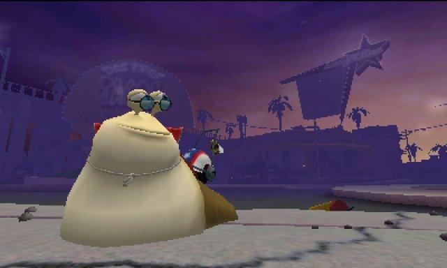 Screenshot - Turbo: Super Stunt Squad (3DS)