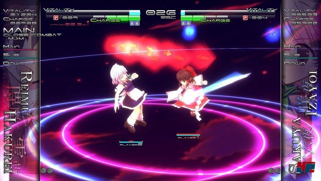 Screenshot - Touhou Genso Rondo: Bullet Ballet (PS4)