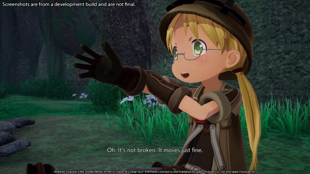 Screenshot - Made in Abyss: Binary Star Falling into Darkness (PC, PS4, Switch)