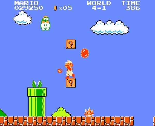 Super Mario Bros (1985)<br><br>Das Spiel, das im Großen und Ganzen jeder gespielt hat, der ein NES besaß. Das Spiel, das im Großen und Ganzen jeder spielen wollte, der kein NES hatte. Das Spiel, das dem NES zu einem unglaublichen Erfolg verhalf, und seinen Designer Shigeru Miyamoto ebenso wie den vom ihm geschaffenen Charakter zur Kultfigur machte. 1985 versetzte es die Videogamewelt in einen Mario-Rausch, der bis heute anhält und Nintendos Kasse zuverlässig klingeln lässt. Und dabei war es so simpel: Laufen, springen, Feuerbälle werfen, Prinzessin retten. Dam-dam-dam-da-da-dadam. Hach. Kult! Der sich bis heute mehr als 40 Millionen mal verkauft hat. 1724676