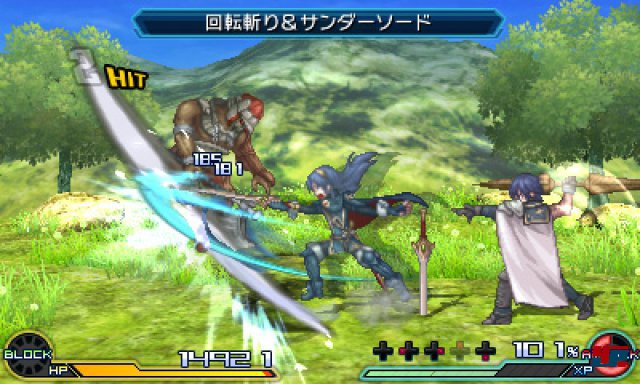 Screenshot - Project X Zone 2: Brave New World (3DS)