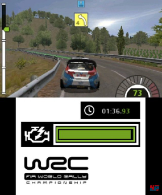 Screenshot - WRC FIA World Rally Championship The Official Game (3DS)