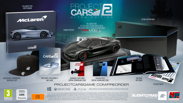 Die Ultra Edition von Project CARS 2