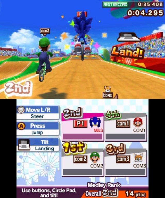 Screenshot - Mario & Sonic bei den Olympischen Spielen: London 2012 (3DS) 2304937