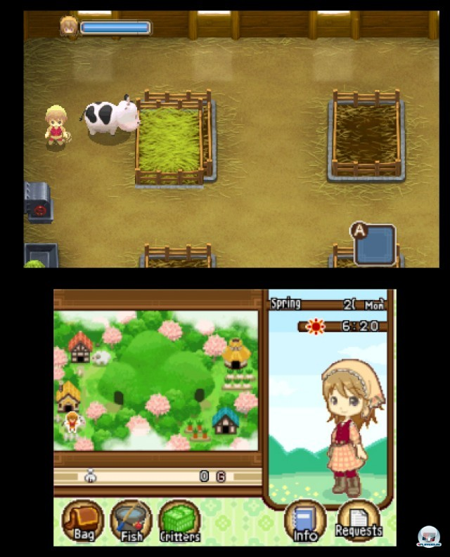 Screenshot - Harvest Moon: The Tale of Two Towns (3DS) 2232129