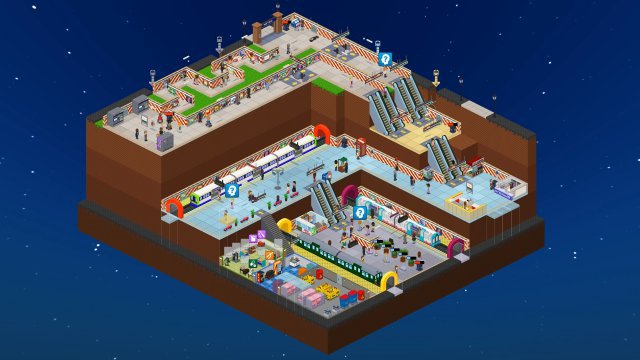 Screenshot - Overcrowd: A Commute 'Em Up (PC)