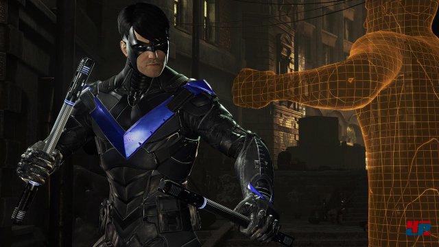 Was ist mit Nightwing passiert? Über das Analyse-Tool kann man die Geschehnisse rekonstruieren.