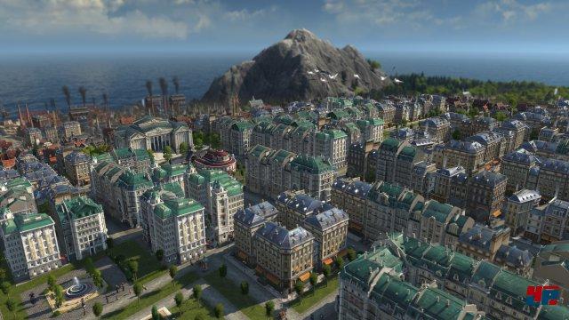 Bei Anno 1800 beginnt man im Spätmittelalter und führt die Stadt in eine industrielle Zukunft.